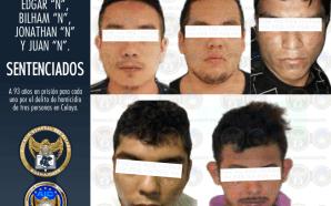 EN JUICIO ORAL SENTENCIAN 93 AÑOS DE PRISIÓN A GRUPO…