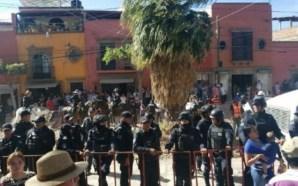 DETIENEN CON VIOLENCIA A ACTIVISTAS DE SAN MIGUEL DE ALLENDE,…