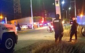 FISCALÍA INVESTIGA ATAQUE EN CONTRA DE POLICÍAS DE VILLAGRÁN.