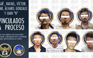 VAN A PRISIÓN 07 HOMBRES POR COMETER HOMICIDIOS Y DESAPARICIONES.