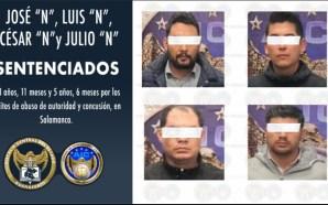 #Salamanca EXMINISTERIALES VAN PRISIÓN POR ABUSO DE AUTORIDAD.