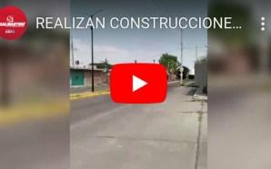 REALIZAN CONSTRUCCIONES EN PREDIOS PÚBLICOS DE LA AMPLIACIÓN BELLAVISTA, VECINOS…