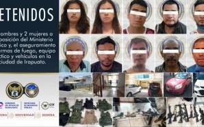 CAE CÉLULA CRIMINAL EN CASA DE SEGURIDAD DE IRAPUATO.