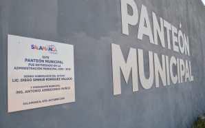 AMANTES DE LO AJENO 'SAQUEAN' INSTALACIONES DEL NUEVO PANTEÓN MUNICIPAL