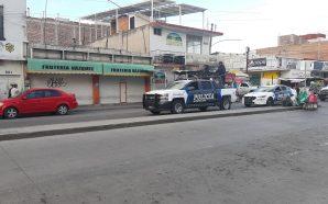 CONTINÚA PRESENCIA POLICÍACA EN EL MERCADO, PERO NO HAY ESTRATEGIA…