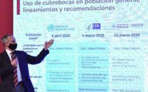 USO ADECUADO DE CUBREBOCAS EVITA LA PROPAGACIÓN DEL SARS-COV-2