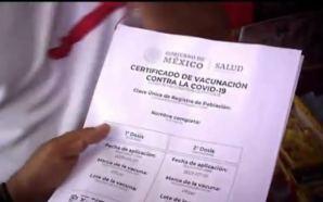 🔴#Nacional NUEVO FRAUDE COVID-19: VENDEN FALSOS CERTIFICADOS DE VACUNA.