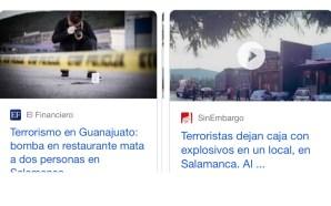 COMO UN ACTO TERRORISTA, ASÍ CALIFICAN EXPLOSIÓN DE BOMBA OCURRIDA…
