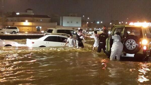 floods kuwait