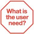 User need sticker