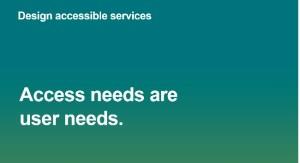 access needs user needs