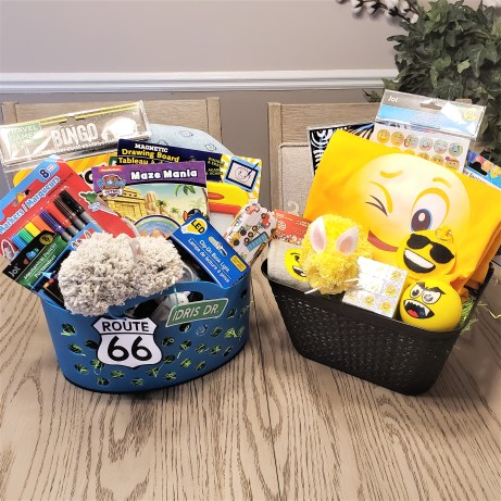 themed easter baskets