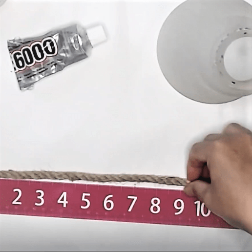 Measuring-rope-for-light-handle