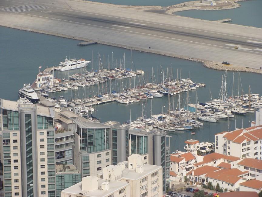 Marina and runway