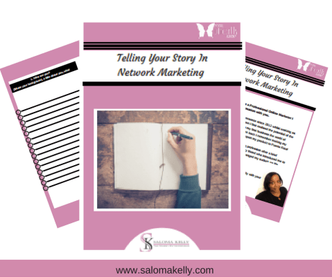 Telling Your Story In Network Marketing.