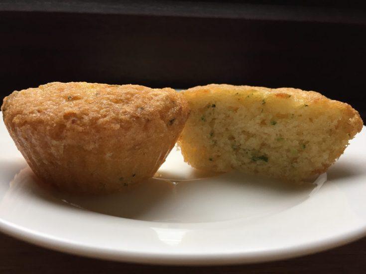 Courgette cupcake