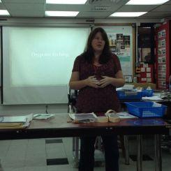 michelle's workshop--drypoint etching