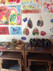 art space for kids where we had brekkie--ce jour-la