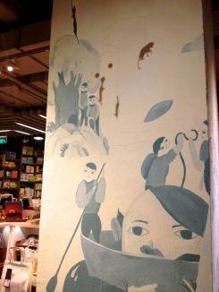 such a unique space--Fang Suo Commune (方所)...books, plants, stationery, coffee shop, ceramics, homeware, clothing, art exhibit