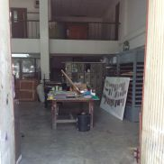 a peek into part of the printing studio at CMU