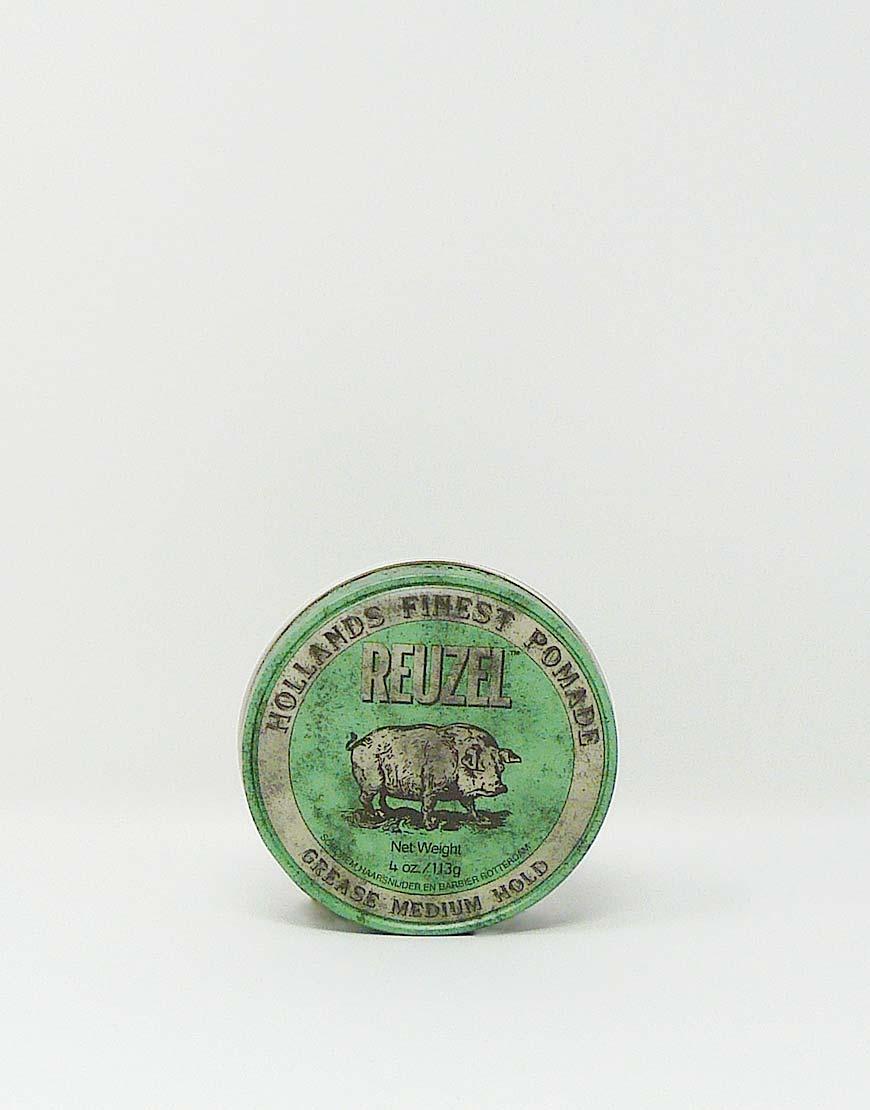 Reuzel Grease Medium Hold green 113g Pomade  Salon Einundzwanzig
