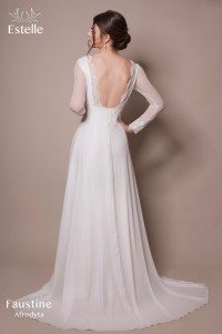 suknia ślubna Faustine
