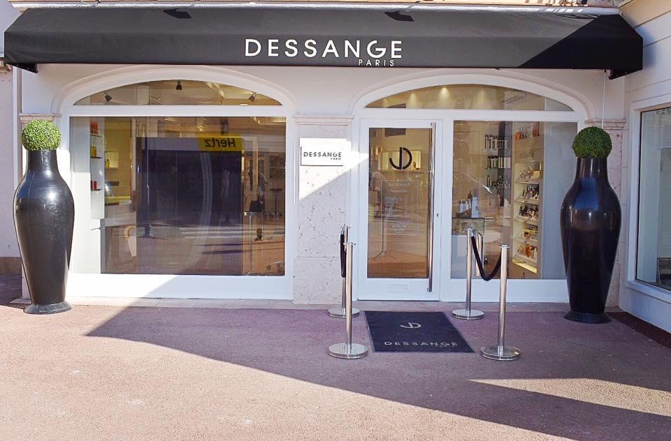 Salon de coiffure Saint Tropez  DESSANGE