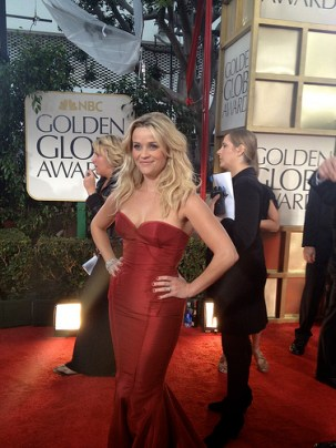 Reese Witherspoon Golden Globes 2012