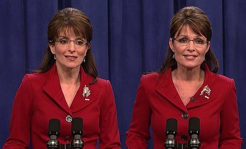 Tina Fey and SarahPalin