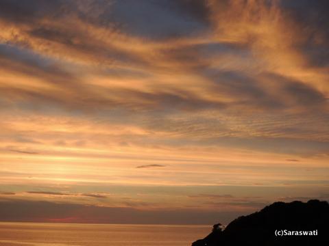 小樽塩谷の夕陽
