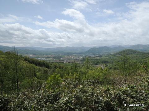 カルデラ展望所からの風景