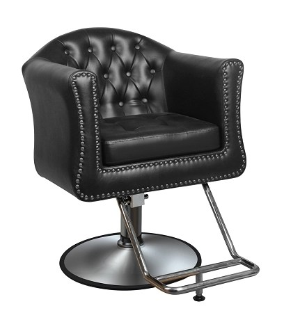 black salon chairs office ball chair the james styling