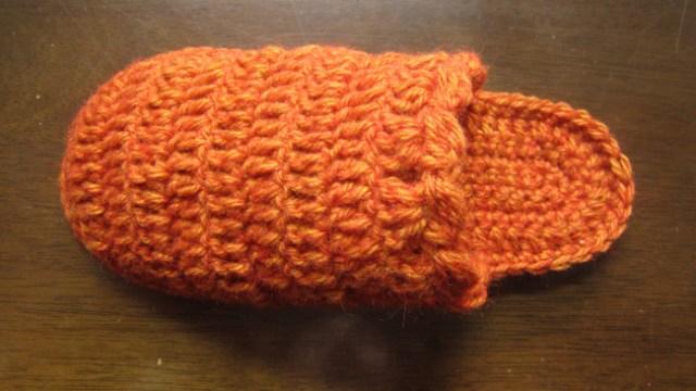 ルームソックスの編み方