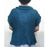 かぎ針編みカーディガン