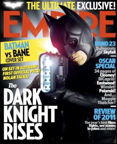 Portada de Empire con Batman