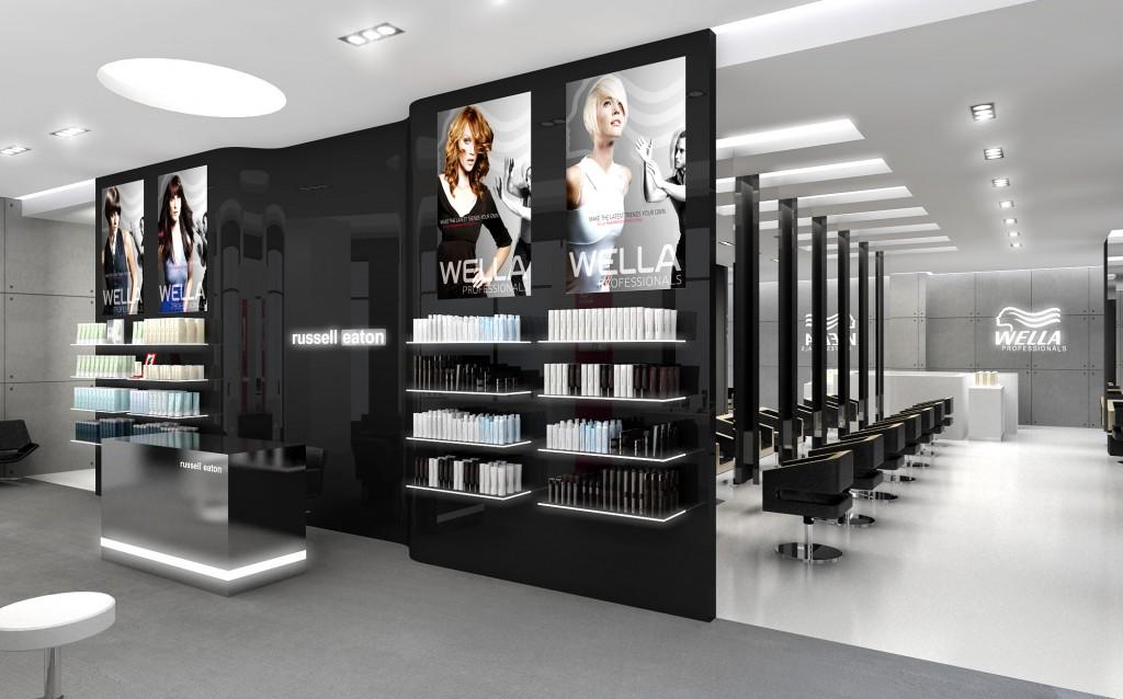 hair salon refurbishments  Beauty Planet Salon Design