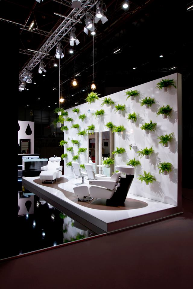 Salon Exhibition  Beauty Planet Salon Design  Salon Furniture
