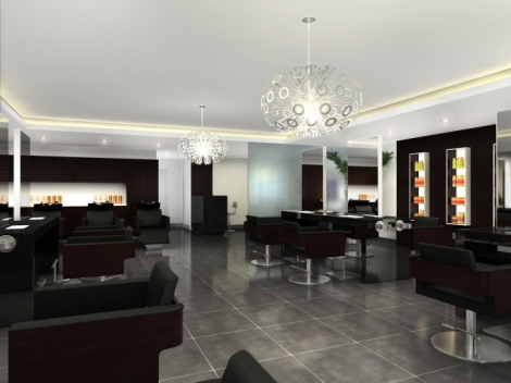 New Salon Designs  Beauty Planet  Beauty Planet Salon Design  Salon Furniture