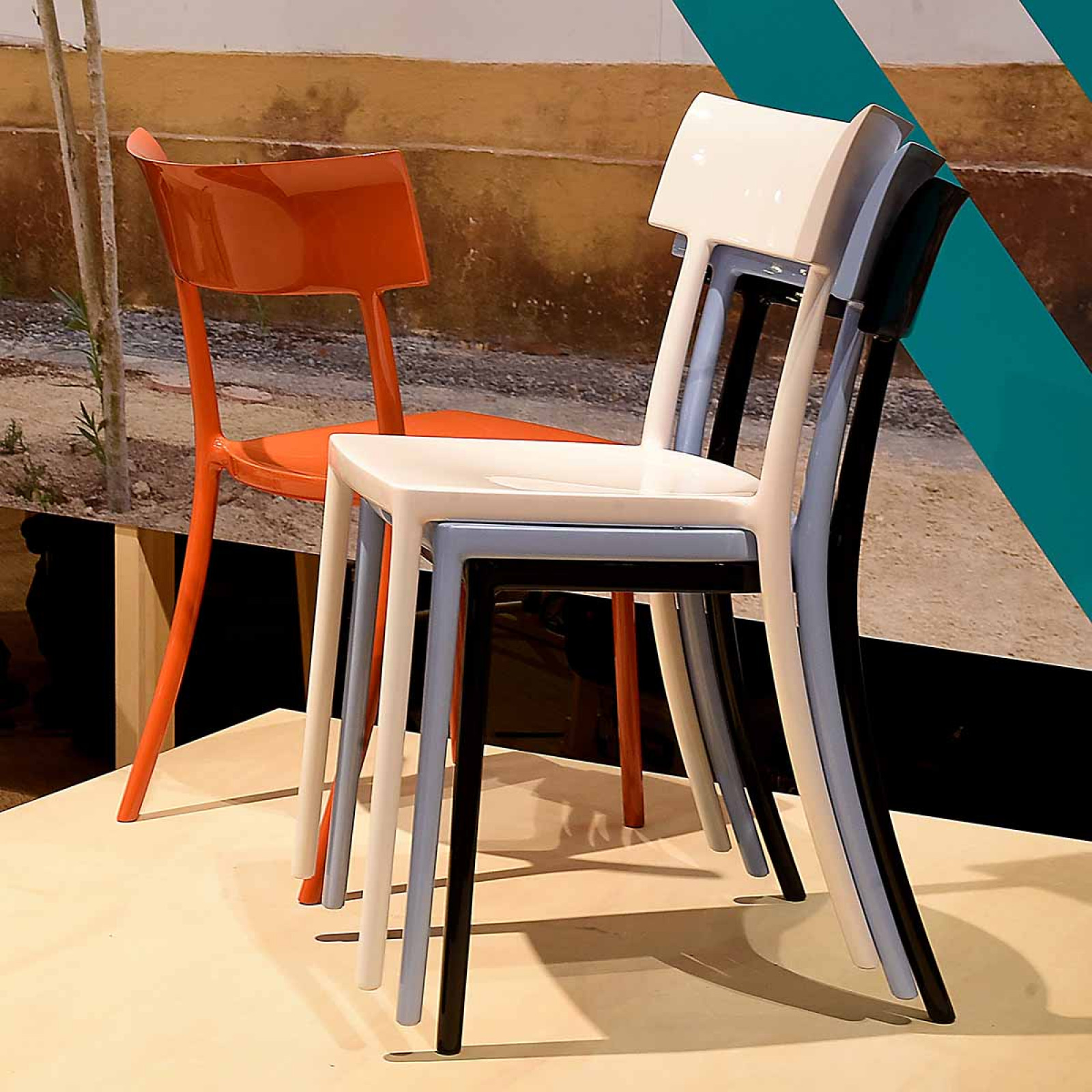 Generic family by Philippe Starck  Kartell ContamiNATION