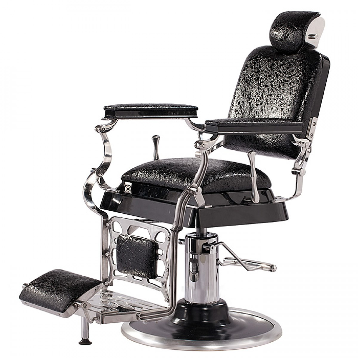Old Barber Chairs Quotemperor Quot Antique Barber Chair Matt Black Salon
