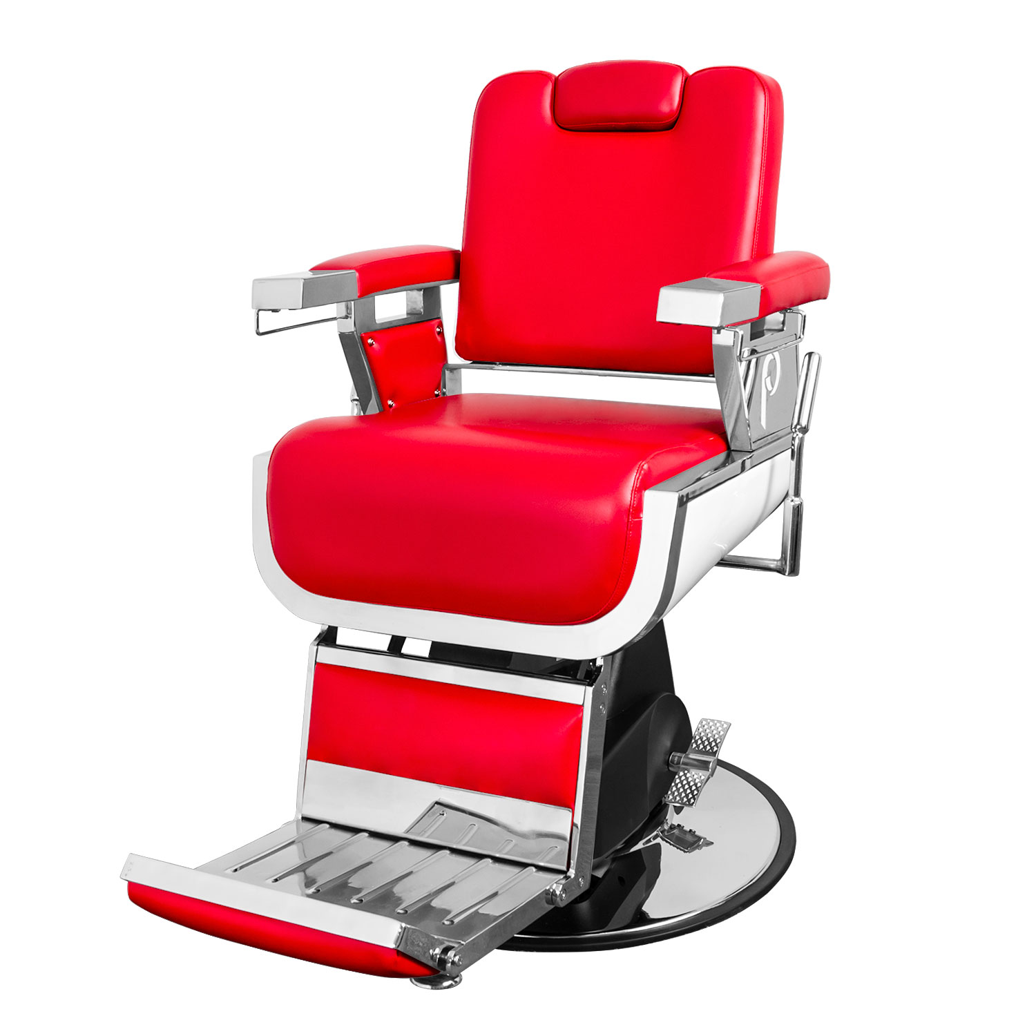 Red Barber Chair Admiral Barber Chair Red Salon Furniture Toronto Canada Usf