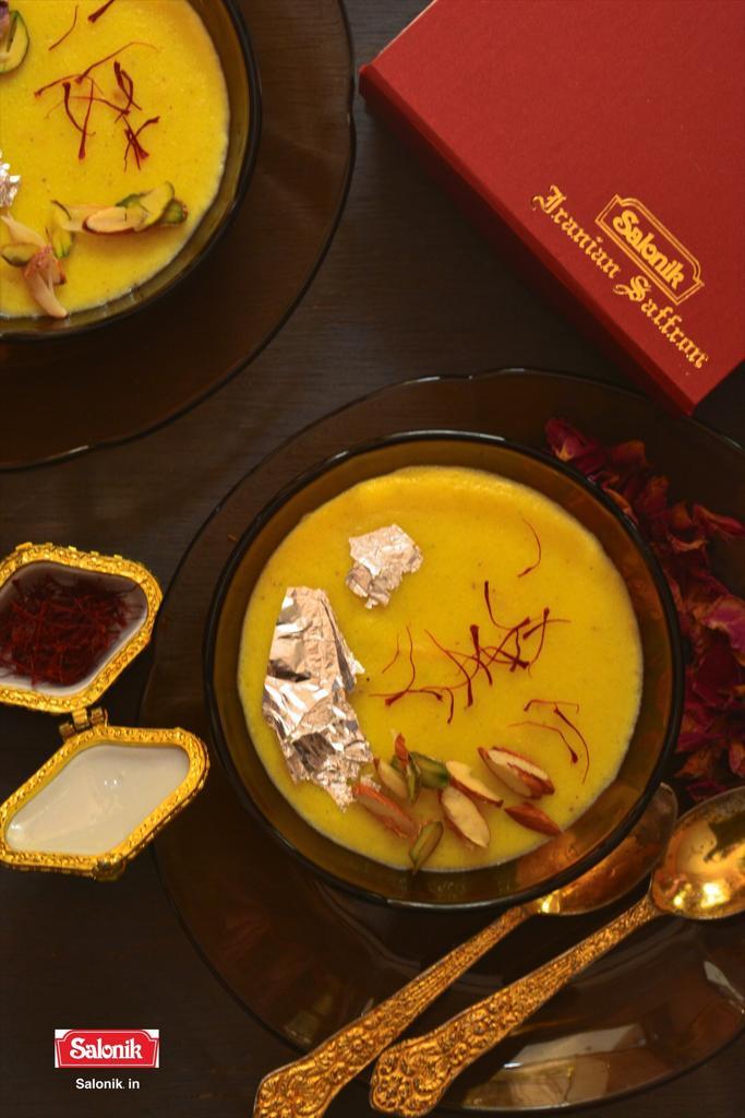 saffron dish