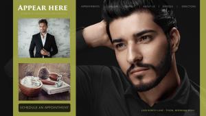 Barber Web Site Design