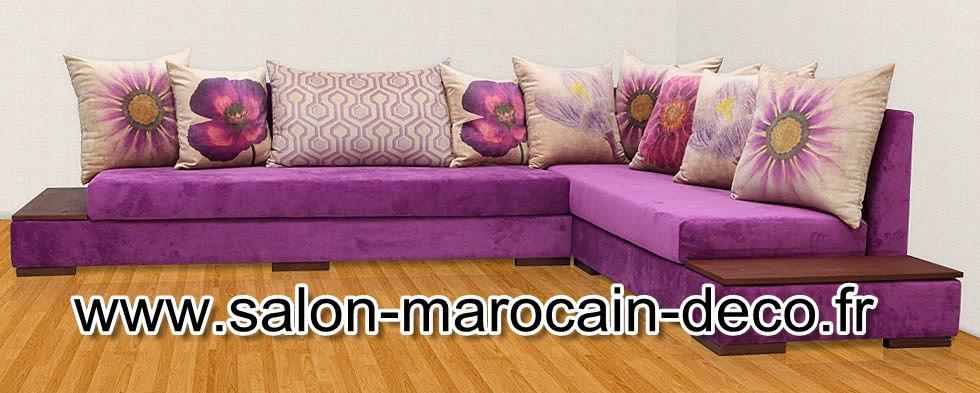 vente salon marocain  salon moderne marocain