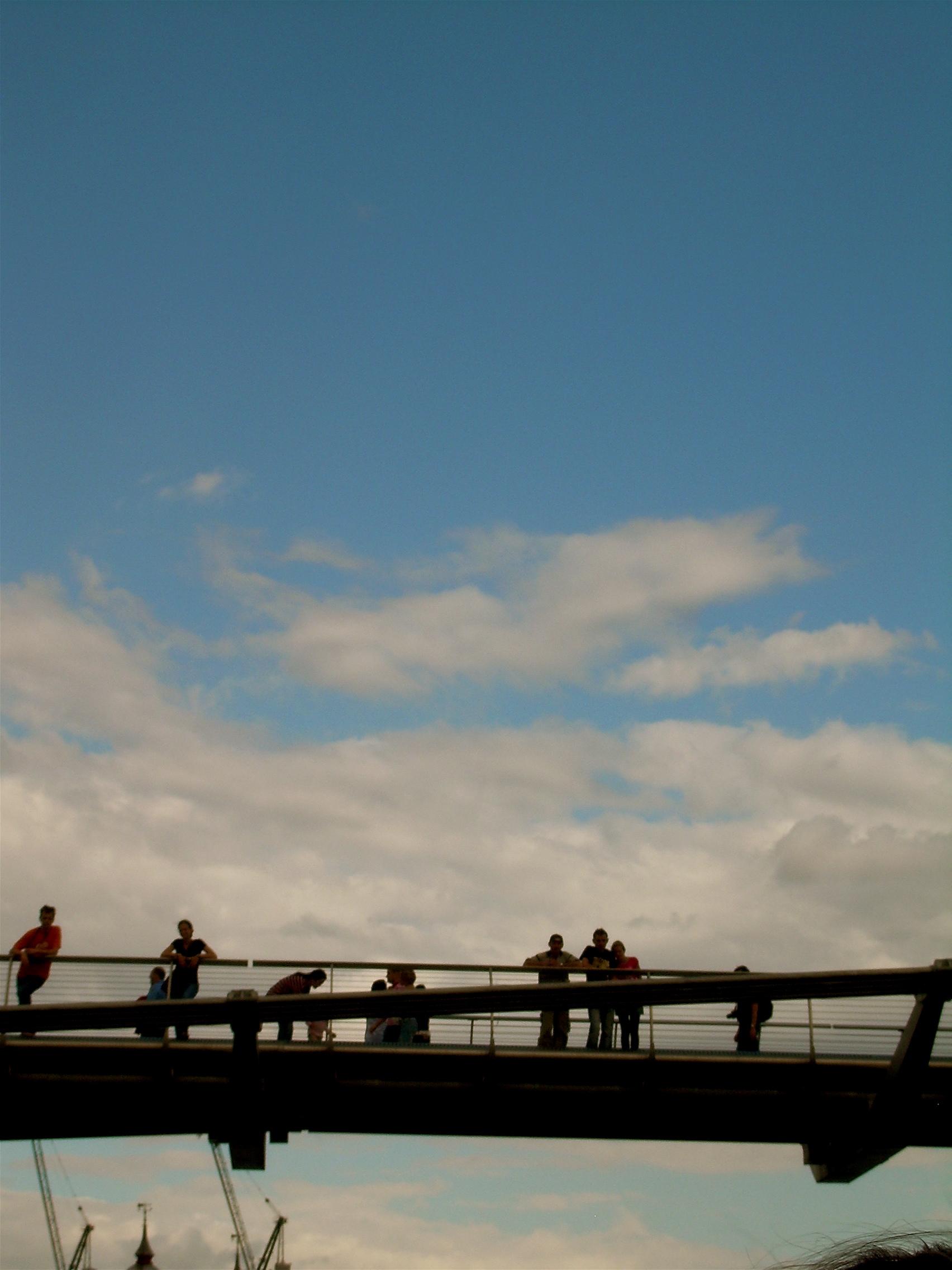 Going Under the Millenium Bridge