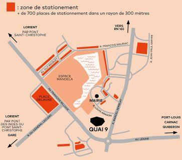 Zone stationnement