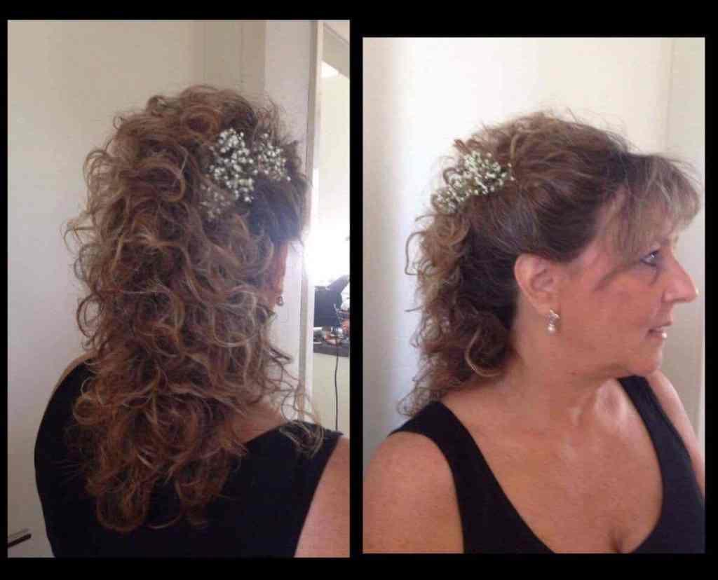 Opsætning og krølning af hår hos Salon Tiffany i Brovst