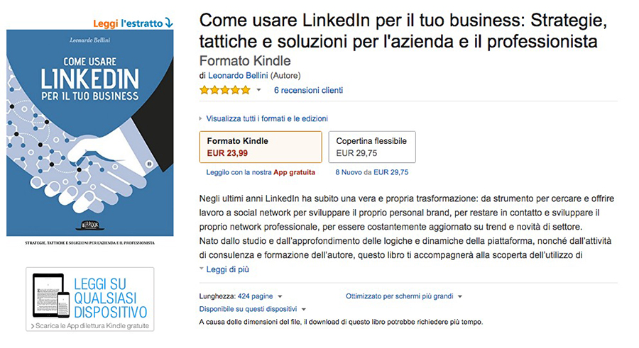 Salottino Book Linkedin Amazon