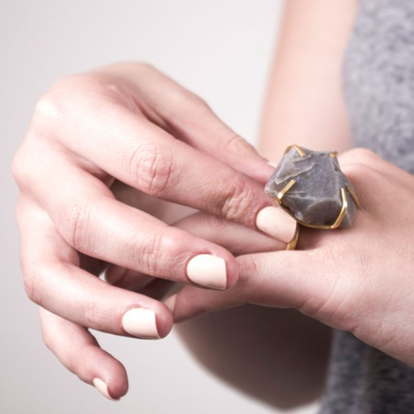 Handmade Quality Jewellery Handcrafted Ring Elvie Rock by Saloukee Lifestyle