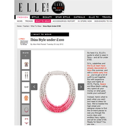 JEWELLERY PRESS SALOUKEE PURLS NECKLACE ELLE UK